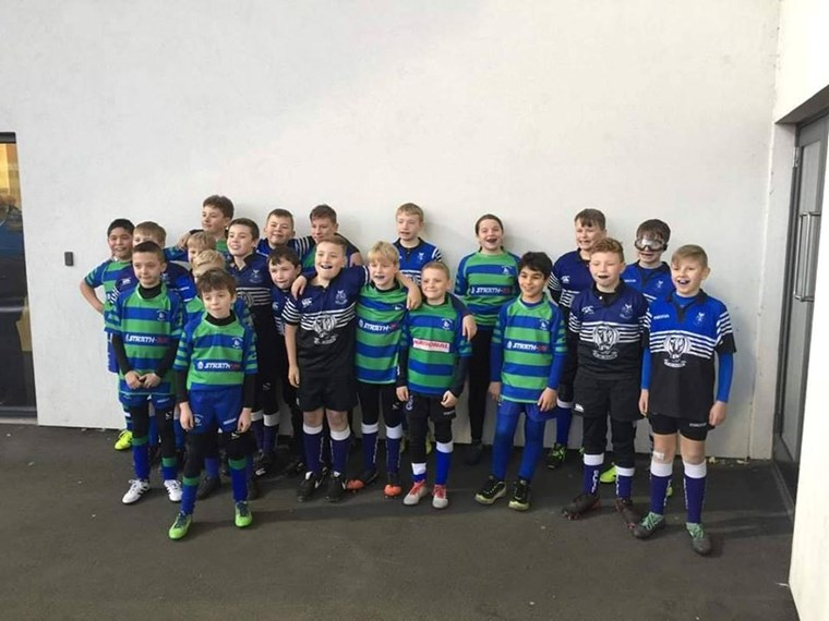 P7 DRAGONS AT SCOTSTOUN